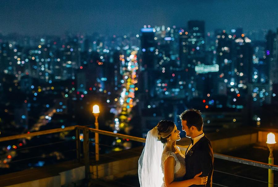 Casamento Vista de São Paulo Trio