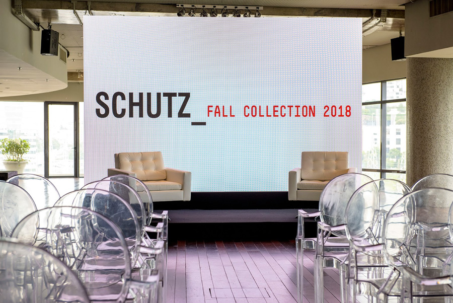 Lançamento Schutz Fall Collection Trio Pérgola