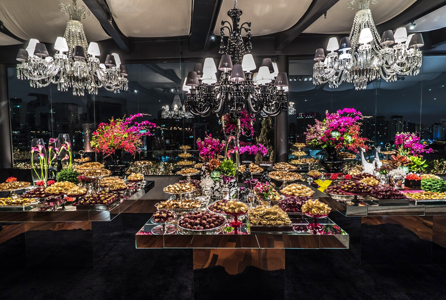 Importância da mesa de doces na festa Trio Pérgola