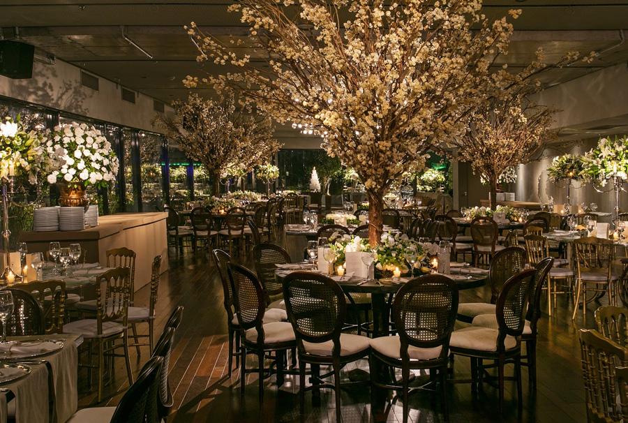 Como planejar as mesas de convidados do casamento Trio Pérgola