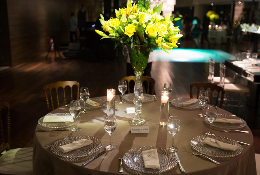 Mesa de convidados casamento Gabriela Dal Bello Renato Otranto Trio Pérgola