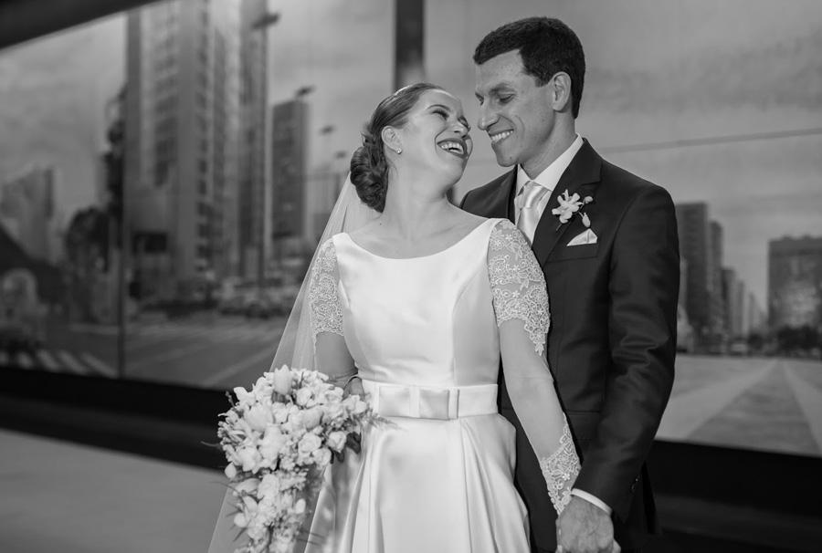 Fotografia de casamento preto e branco Ricardo Hara Trio Pérgola