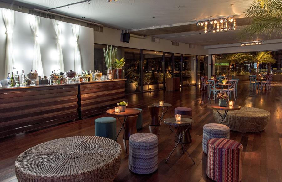 Bar e lounge para um casamento perfeito Trio Pérgola