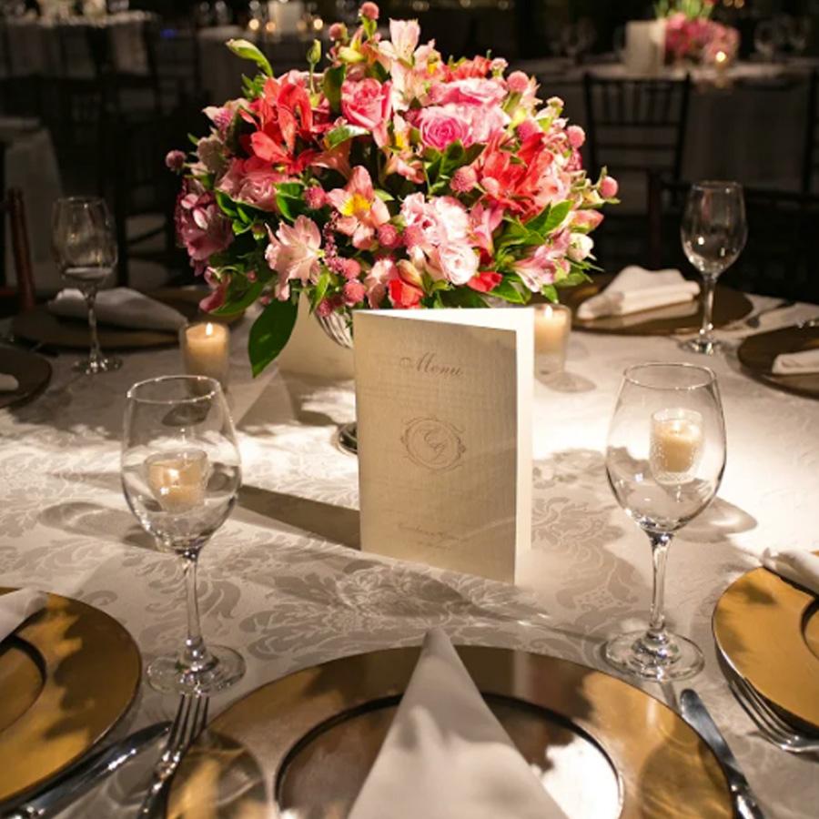 Como planejar o menu do casamento Gastronomia Grupo Trio
